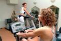 Posilovna a fitness v hotelu Aphrodite