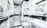 Pokoj Comfort, Koupelna se sprchou