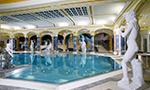 Minerální termální bazén