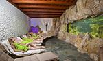 Odpočinkové prostory s akváriem