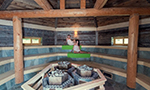 Finská rustikální sauna