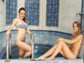 Chladící bazén v areálu Saunového světa