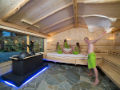 Biosanárium s teplotou 65-70°C, vhodná pro návštěvníky, pro které je klasická sauna příliš horká