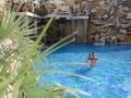 Rodinný bazén, vhodný i pro děti a vodní aktivity