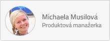 Michaela Musilová, produktová manažerka